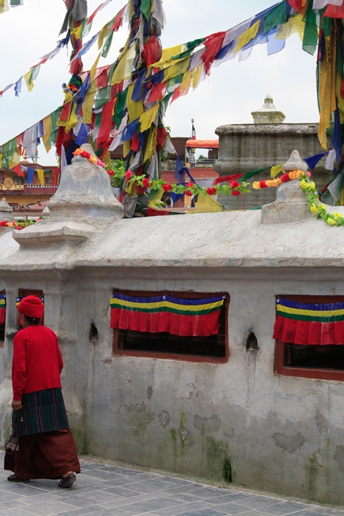 Barrio Bouddha en Katmandú