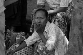 Pueblo del río Irrawaddy