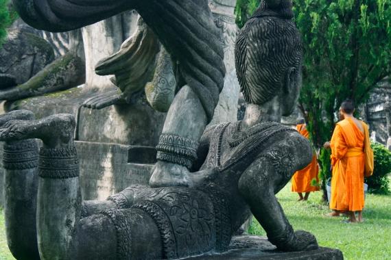 Parque Budda, Vientiane