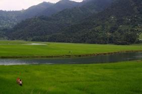 Campo en Pokhara