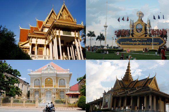 Templos y edificio colonial